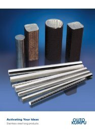 Stainless Long Products Catalogue - Outokumpu