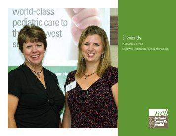 Dividends - Northwest Community Healthcare