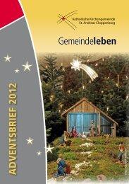 Gemeindeleben - Katholische Kirchengemeinde St. Andreas ...