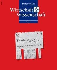 wuw_2011-03.pdf - Stifterverband für die Deutsche Wissenschaft