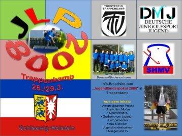Jugendländerpokal 2008 - Deutscher Minigolfsport Verband