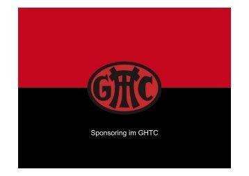 Sponsoring im GHTC - Gladbacher Hockey