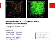 Star formation histories - STScI