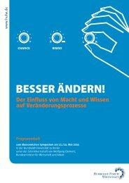 Programmheft, niedrige Auflösung - Humboldt-Forum Wirtschaft e.V.