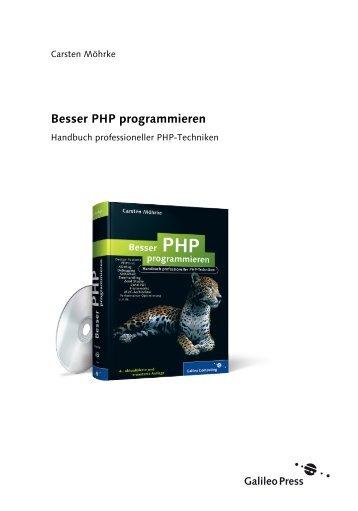Php pdf besser programmieren