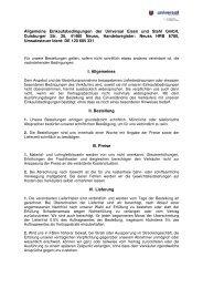 AEBs - Universal Eisen und Stahl GmbH