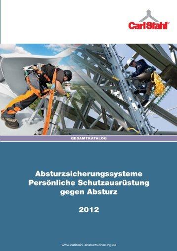 Absturzsicherungssysteme Persönliche ... - Carl Stahl GmbH