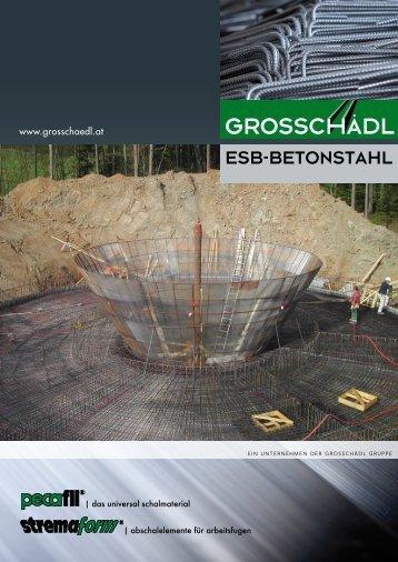 Link zu ESB-Betonstahl Folder