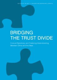 Bridging the Trust Divide - Stiftung Mercator