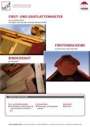 first- und gratlattenhalter - MAGE Herzberg GmbH