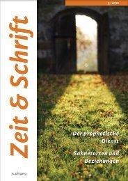 Heft 5/2012 - Zeit & Schrift