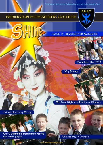 What's in this issue - Bebington High Sports College