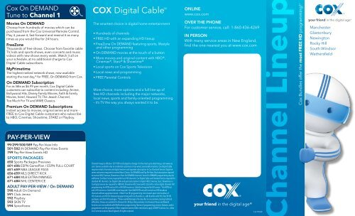 Cox cable wichita ks channel guide