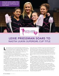 Lexie Priessman soars to - USA Gymnastics