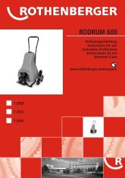 RODRUM 600 - Rothenberger South Africa