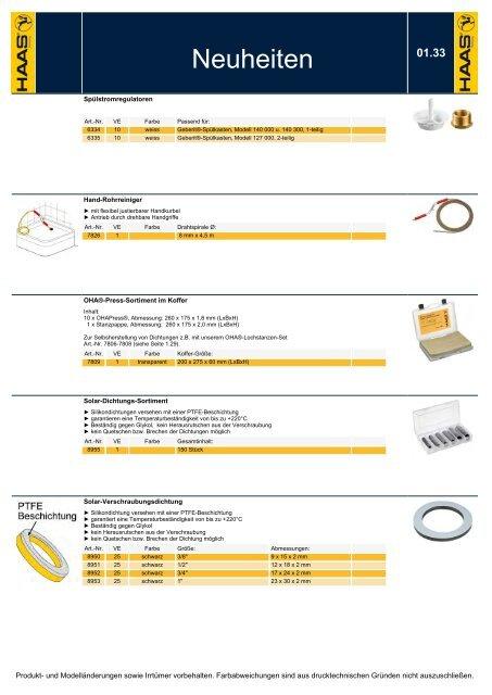 """1 1//2/"""" 4 Stück Haas OHA®-Press-Verschraubungs-Dichtung 46 x 62 x 1,8 mm DN 40"""