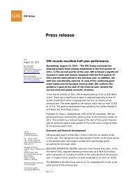Press release - GfK