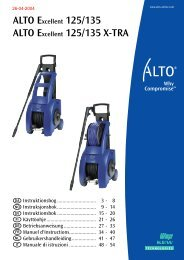 ALTO Excellent 125/135 X-TRA - Nilfisk-Alto / Wap-Alto Shop