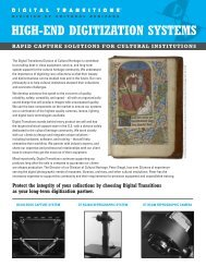 BC100 Book Capture System - Digital Transitions