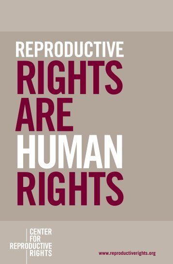 PDF, 0.2 MB - Center for Reproductive Rights