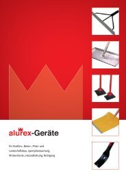 Winterdienst, Instandhaltung und Reinigung - alurex GmbH
