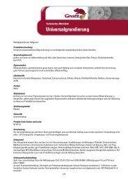 Weißpigmentierter Haftgrund. Produktbeschreibung Universal ...