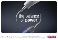 the balance of power - Hu-Friedy