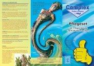 Pflegeanleitung für Holzpflegeset - COMPLEX Farben