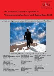 Telecommunication Laws and Regulations 2009 - Heuking Kühn ...