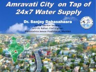 Dr. Sanjay Dahasahasra - Ministry of Urban Development