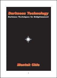 Darkness Technology - Universal Tao Center