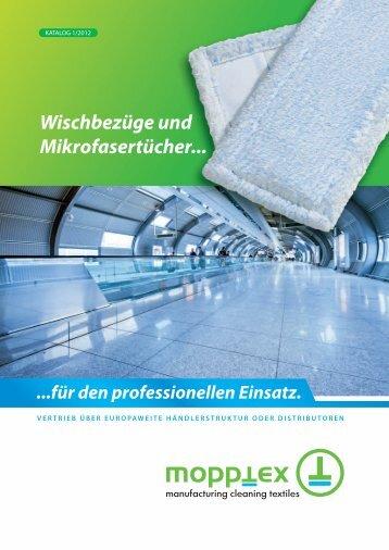 Wischbezüge und Mikrofasertücher... - Mopptex