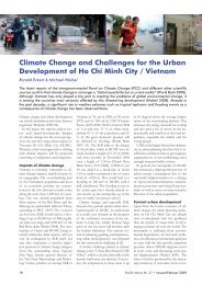 Climate Change and Challenges for the Urban Development of Ho ...