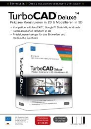 TurboCAD Deluxe 14 Datenblatt - PresseBox