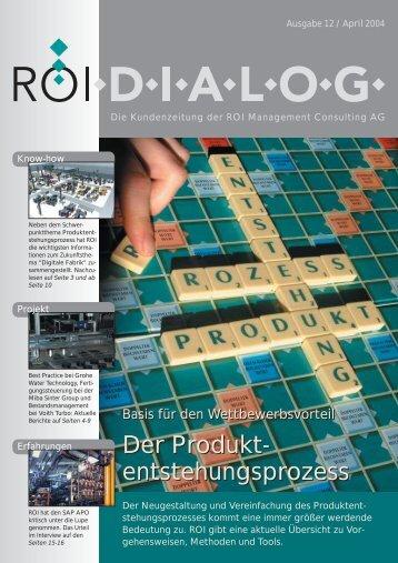 Der Produkt - ROI Management Consulting AG