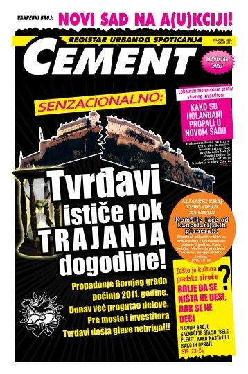 Cement - Registar urbanog spoticanja - centar za nove medije_kuda ...