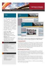 Case Study VDMA - fabrique d'images ebusiness GmbH