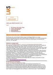 LAKS-Letter 04/2007, Mai 2007, Nr. 38 Inhalt: 1 ... - LAKS Hessen eV