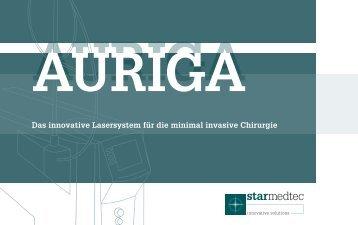 Flyer AURIGA - GM-Medizintechnik