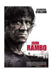 John Rambo Presseheft d - Ascot Elite Entertainment Group