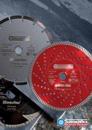 Diamant-Trennscheiben – Diamond cutting discs - Sonnenflex