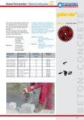 Diamant-Trennscheiben – Diamond cutting discs - Sonnenflex - Seite 6