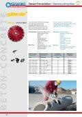 Diamant-Trennscheiben – Diamond cutting discs - Sonnenflex - Seite 7