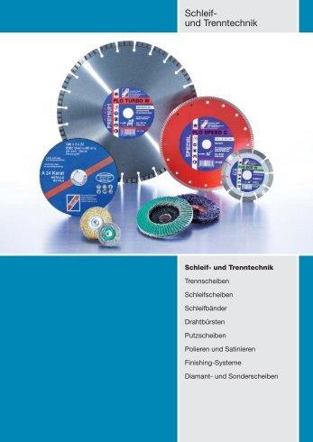 Schleif- und Trenntechnik - Technolit