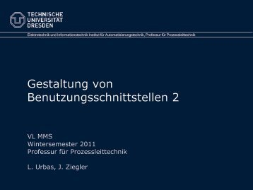 "Goldene"" Regeln - Fakultät Elektrotechnik und Informationstechnik"