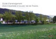 Etude d'aménagement de la zone industrielle de - Val-de-Travers