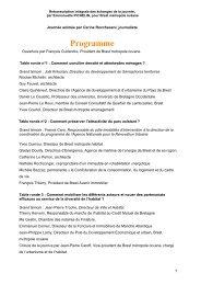Programme - Brest