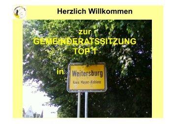 Bürgersolar Urbar - Gemeinde Weitersburg