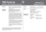 Medizinische CME-Fortbildung bei Urban & Vogel ... - CME-Punkt.de