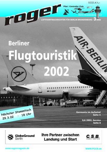 Roger Ausgabe 03 2002 - Roger - Luftfahrtnachrichten für Berlin ...